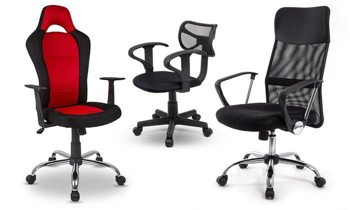 Verstelbare bureaustoelen groupon goods