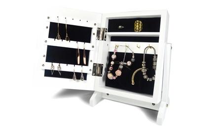 Specchio porta gioielli