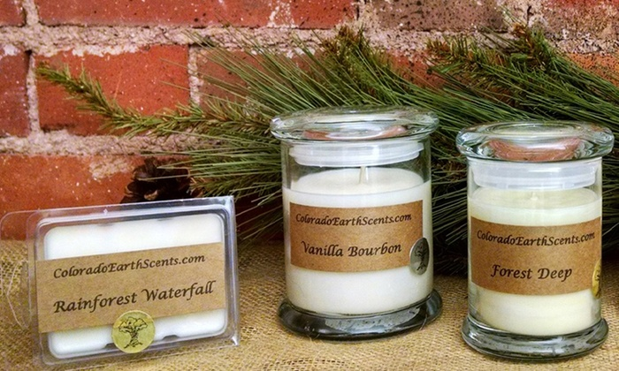 Colorado Earth Scents - Mountain Living Studio: $14 for $25 Worth of Natural Soy Candles — Colorado Earth Scents