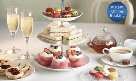 High Tea for Two ($35), or for Eight People with Sparkling Wine ($175) at Montrose Cafe Bistro (Up to $320 Value)