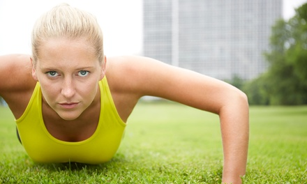 $89 for a 6-Week Indoor or Outdoor Boot Camp at Assiniboine Park from Advantage Conditioning ($247.50 Value)