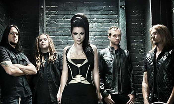 Carnival of Madness featuring Evanescence and Chevelle - Harris - Houston: Evanescence and Chevelle at Verizon Wireless Amphitheatre on August 8 at 5 p.m. (Up to 52% Off). Two Options Available.