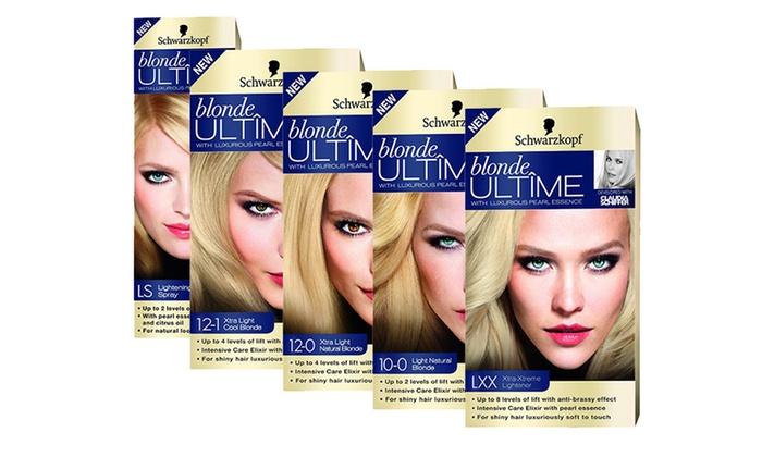 Groupon Goods Global Gmbh Schwarzkopf Blonde Ultimate Hair Dye Lightning Spray For 4 99