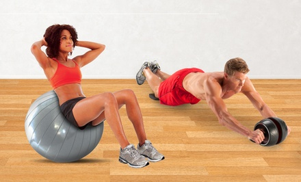 Perfect Ab Carver Pro and Core-Ball Fitness Bundle. Multiple Exercise Ball Sizes Available. Free Returns.