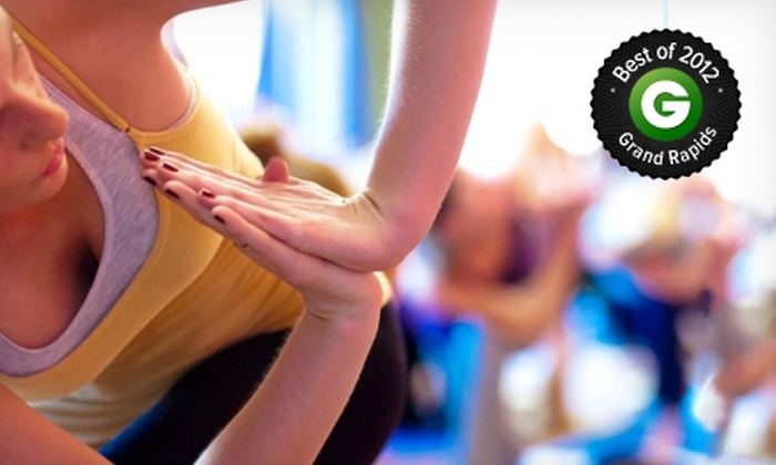 The Funky Buddha Yoga Hothouse - Multiple Locations: $20 for One Absolute Beginners Class and Three Basics Classes at The Funky Buddha Yoga Hothouse (Up to $64 Value)