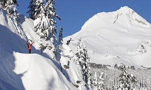 Mt. Hood Meadows Resort: Snowshoeing for 2 with Optional Dining Voucher, or Snowshoeing for 4 at Mt. Hood Meadows Resort (Up to 48% Off)