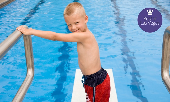 Water Wings Swim School - Multiple Locations: Four Weekly Group or Private Swim Classes at Water Wings Swim School (Up to 49% Off)