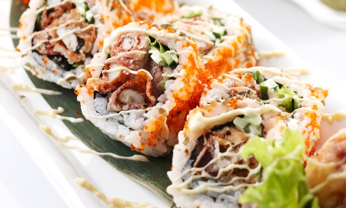 Yoshi Bento - Desert View: Sushi and Sake Meal for Two or Four at Yoshi Bento (Half Off)