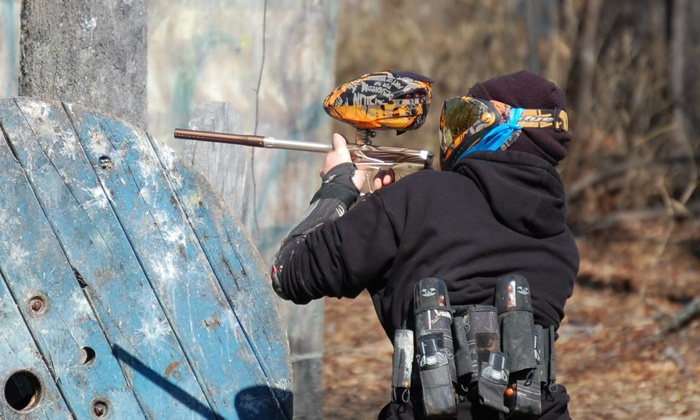 Chesapeake Sports Park - Multiple Locations: $19 for an All-Day Outing with Equipment, Unlimited Air, and 200 Paintballs at Chesapeake Sports Park ($44.95 Value)