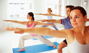Heat Yoga Studio: 10 or 20 Hot-Yoga Classes at Heat Yoga Studio (Up to 76% Off)