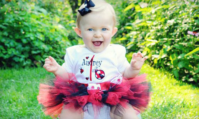 Polka Dot Baby Bowtique: $15 for $30 Worth of Boutique Baby Apparel and Accessories from Polka Dot Baby Bowtique in Macon