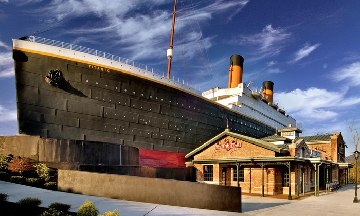Titanic Pigeon Forge - Titanic, The Legend Continues: Visit for One or Two Adults or Two Adults and Two Children to Titanic Pigeon Forge (Up to 32% Off)