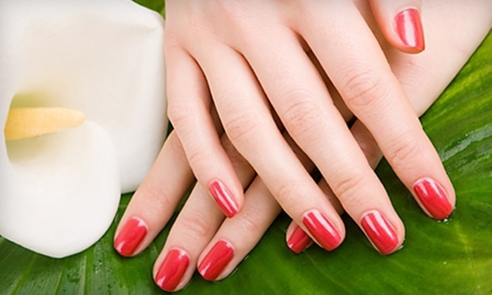 Blowout Salon - Virginia Beach: Professional Blowout or Shellac Manicure at Blowout Salon (Up to 51% Off)