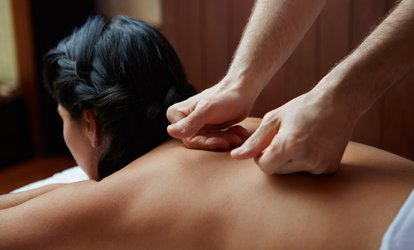 image for Back, Neck and Shoulder Massage or Full-Body Massage with Optional Facial at Blu Nuvo (Up to 57% Off)