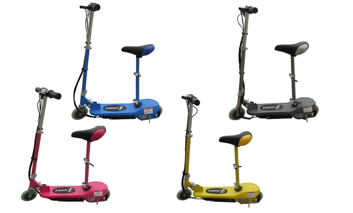 120W Foldable Electric Scooter in Choice of Colour from £57.98 With Free Delivery (42% Off)