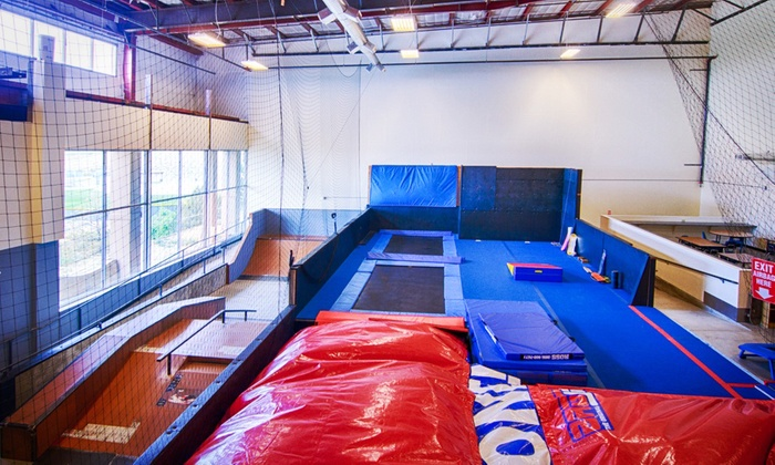 Progresh - Thornton: Two Hours of Mega Slides, Cliff Drops, and Trampolines for One or Two at Progresh (Up to 57% Off)