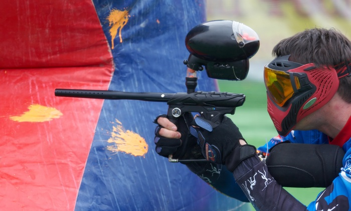 Action Packed Paintball - Jordan: Outdoor Paintball for 2, 4, or 6, or 14 with Equipment and Paintballs at Action Packed Paintball (Up to 54% Off)