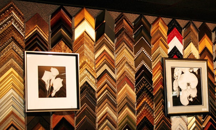 The Art of Custom Framing - Clawson: $50 Toward Framing Products