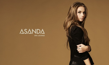 Haircut and Blowdry with Optional Botanical Treatment and Gloss at Asanda Spa Lounge (Up to 46% Off)