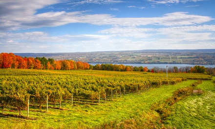 2-Night Stay for Two with Wine, Chocolate, Beer, and Cheese Tastings from FingerLakesBnB.com in New York State