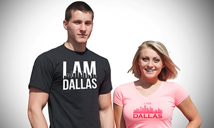 I Am Dallas Clothing: T-Shirts and Hoodies from I Am Dallas Clothing (Up to 52% Off). Two Options Available.