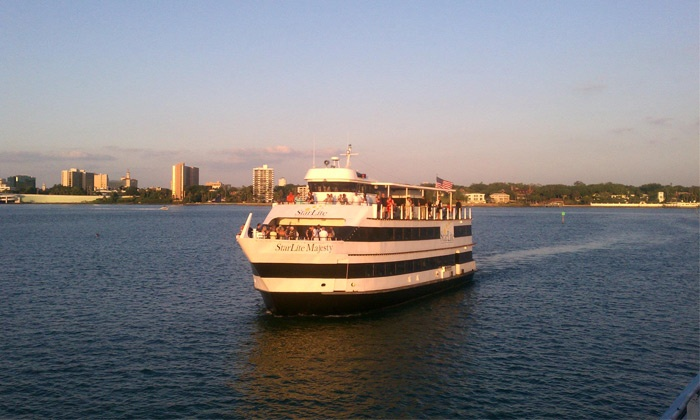 StarLite Dining Cruises - Multiple Locations: Evening or Afternoon Cruise from StarLite Dining Cruises (Up to 56% Off)