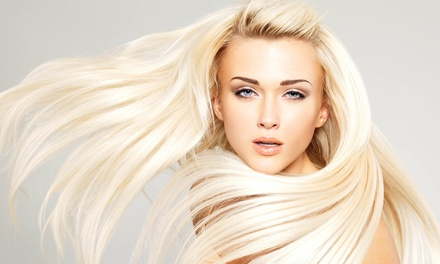 Haircut, Moisturizing Mask, and Blow-Dry with Optional Partial or Full Highlights from Lisa at Salon OC (Up to 58% Off)