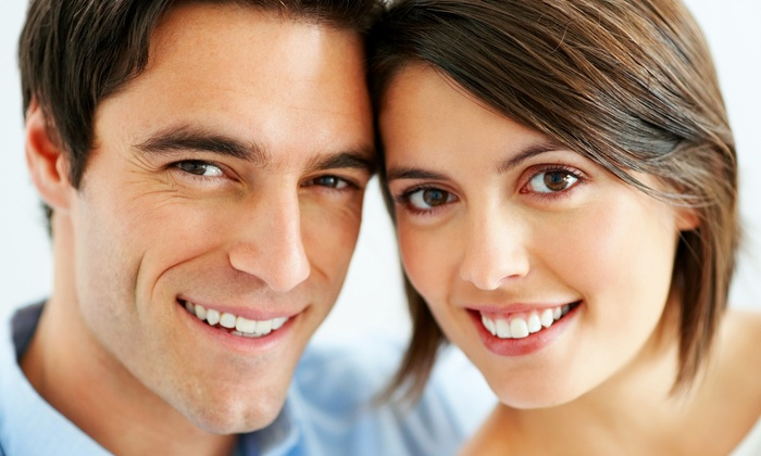 Aura Dental - Simi Valley: Digital X-Rays, Dental Exam and Teeth Cleaning or One Full Porcelain EMAX Crown at Aura Dental (Up to 78% Off)