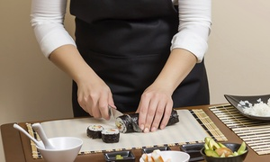 Kobe Sushi at Stony Point: Sushi-Making and Sake-Tasting Experience for Two or Four at Kobe Sushi at Stony Point (Up to 52% Off)