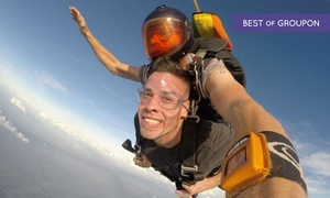 Skydive City/Z-Hills: Tandem Skydive for One or Two or Premium Champagne Package for One or Two (Up to 40% Off)