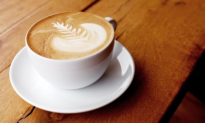 Cafe de Paris - Louisville: $12 for 5 Medium Lattes or 10 Medium Coffees at Cafe de Paris (Up to $25.20 Value)