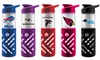 Duckhouse NFL Glass Water Bottle with Silicone Sleeve