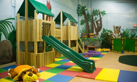 Up to 50% Off 5 or 10 Indoor Playground Passes at Alpha's Discovery Club