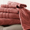 100% Egyptian Cotton Jacquard Towel Set (6pc.)
