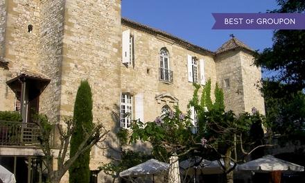 Arpaillargues : 1 à 2 nuits avec petits déjeuners et dîner Gourmet en option au Château dArpaillargues pour 2 personnes