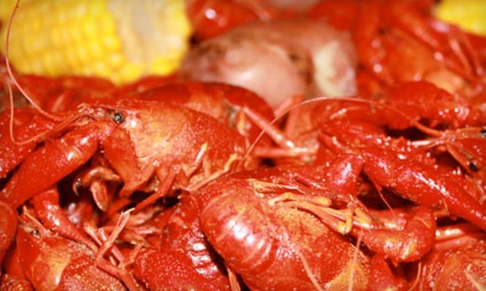 Ragin Cajun - Multiple Locations: $20 for $40 Worth of Cajun Seafood at Ragin Cajun