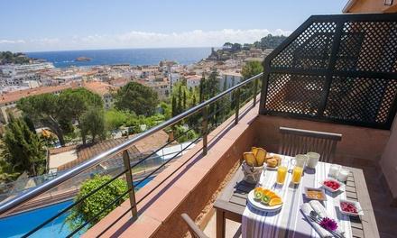 Tossa de Mar: apartamento de 1 dormitorio para 4 personas con opción a vistas al mar en Apartamentos Villa Romana
