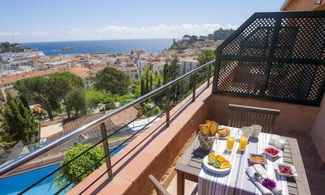 Gerona: apartamento de 1 dormitorio para 4 personas con opción a vistas al mar en Tossa de Mar