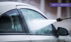 Blue Star Auto Salon: Car-Wash and Detail Packages at Blue Star Auto Salon (Up to 44% Off). Two Options Available.