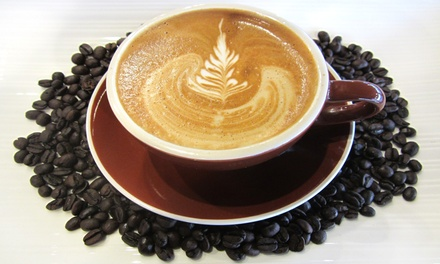 $11 for Four Groupons, Each Good for $5 Worth of Café Drinks at Eagle Specialty Coffee ($20 Total Value)