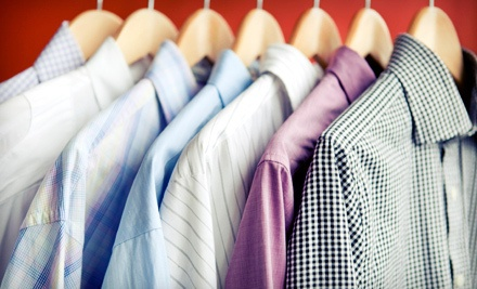 Lugano Green Cleaners: $30 Groupon - Lugano Green Cleaners, Pristine Green Cleaners, and Belaire Cleaners in Denver