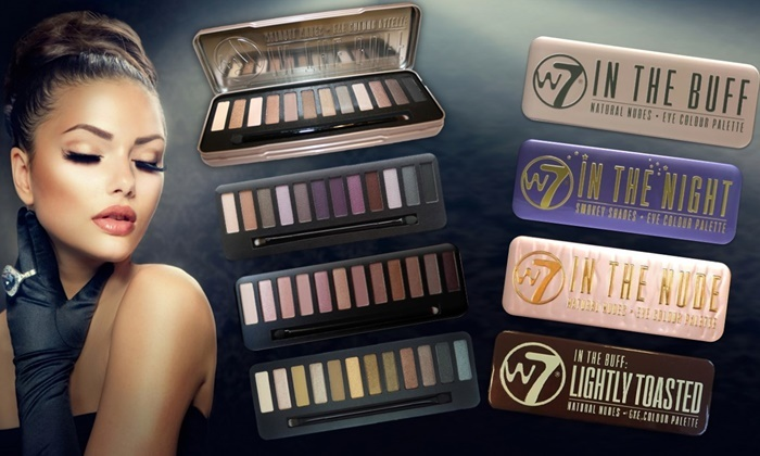 Palettes De Maquillage W7 Groupon Shopping