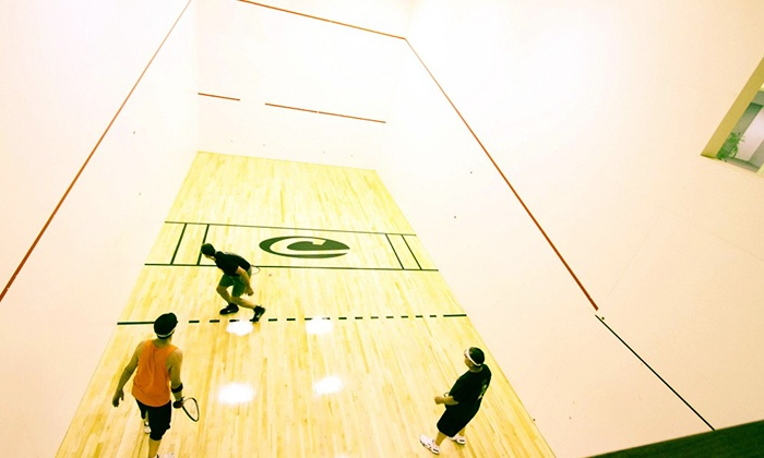 Courthouse Fitness - Multiple Locations: Racquetball League for One or Two at Courthouse Fitness (Up to 51% Off)