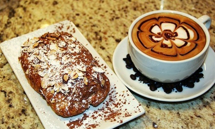 $11 for Two Groupons, Each Good for $10 Worth of Coffee and Cafe Food at Crave Espresso Bar ($20 Value)