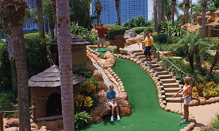 Mini-Golf Round and Bag of Gator Food for Two or Four at Congo River Golf (Up to 53% Off)