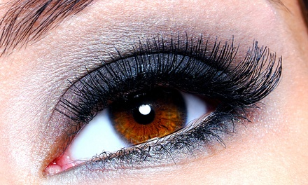 One Full Set of Eyelash Extensions, Three Lash Fill Sessions, or Both at Sass Beauty and Massage (Up to 57% Off)