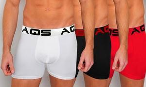 AQS Men's Boxer Briefs (3-Pack) at AQS Men's Boxer Briefs (3-Pack), plus 6.0% Cash Back from Ebates.