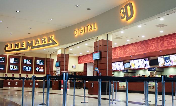 $95 en vez de $190 por entrada 3D con canje online en Cinemark