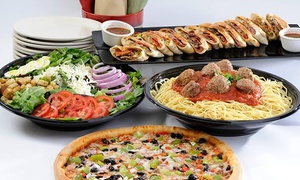 Sam & Louie's: $11 for $20 Worth of Pizza, Pasta, and Sandwiches at Sam & Louie's