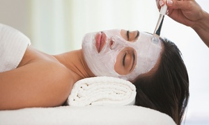 Aria Salon & Spa: One or Two Customized Facials Plus Credit Toward Skincare Products at Aria Salon & Spa (46% Off)